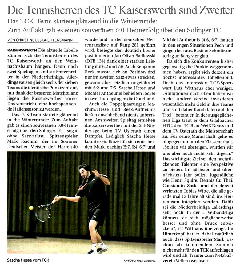 2013.12.24 - Rheinische Post