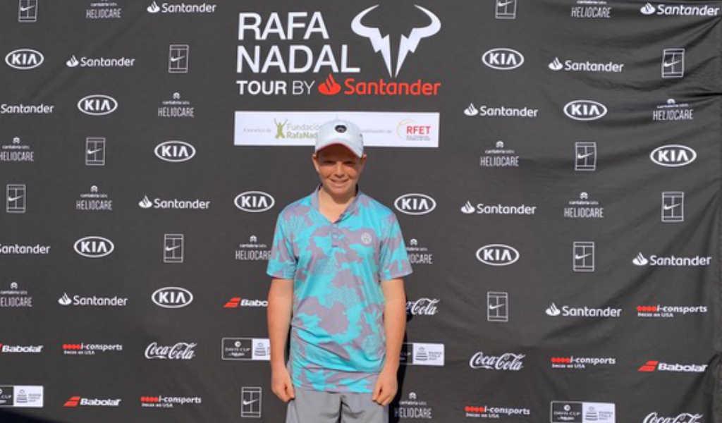 Jamie Mackenzies erfolgreiche Teilnahme auf der Rafa Nadal Tour