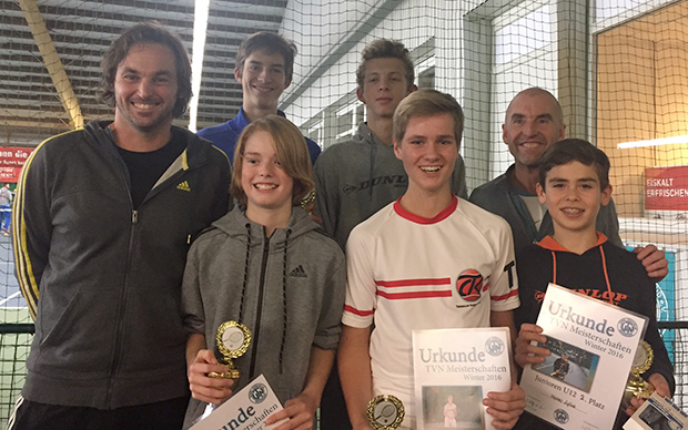 TCK dominiert Hallenverbandsmeisterschaften 2016